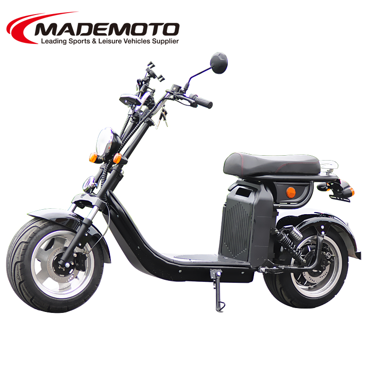 4000W EEC 60V 40AH Fat tire Citycoco Electric Scooter