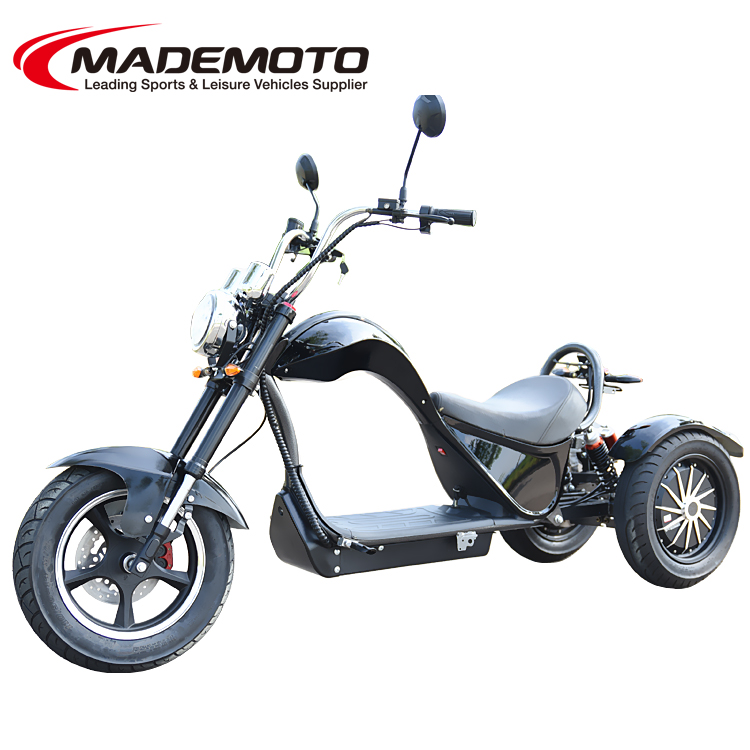 4000W EEC Approved Electric 3 Wheels Electric Chopper Citycoco Scooter