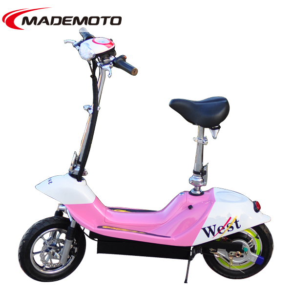 New 500W Brushless Hub Motor Lithium Battery Electric Scooter with Anti-Stolen Safety Lock