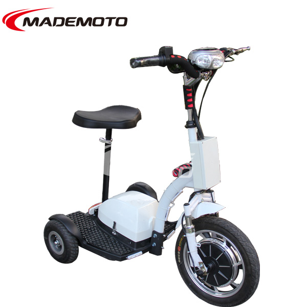 500w brushless motor 48v 12Ah Three Wheel Electric Scooter electric chariot