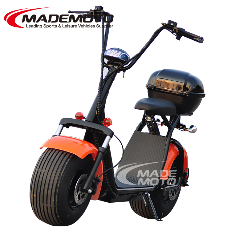 2017 New 1500W Citycoco Electric Scooter with Rear box Turning light