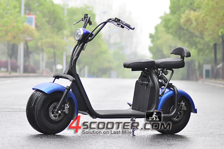 2017 New Big Wheel 1000W City CoCo Electric Scooter