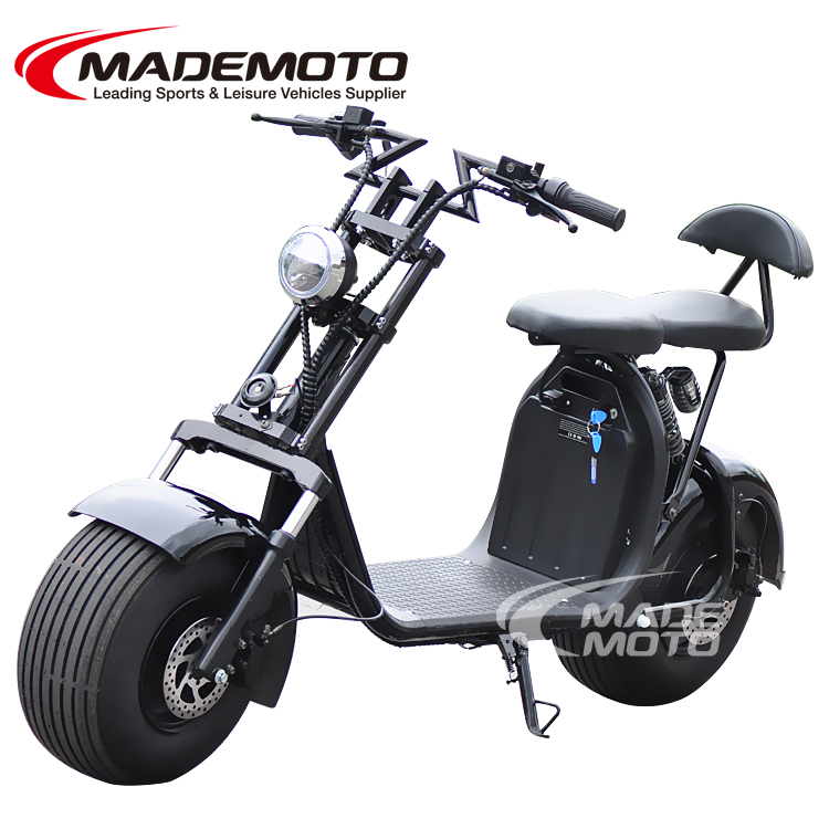 Newest X moto Citycoco with big wheel 1000W/1500W 60V 12Ah Electric Scooter