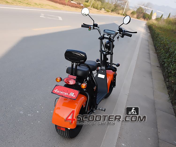 2019 2000W NEW EEC Approved Citycoco Electric Scooter