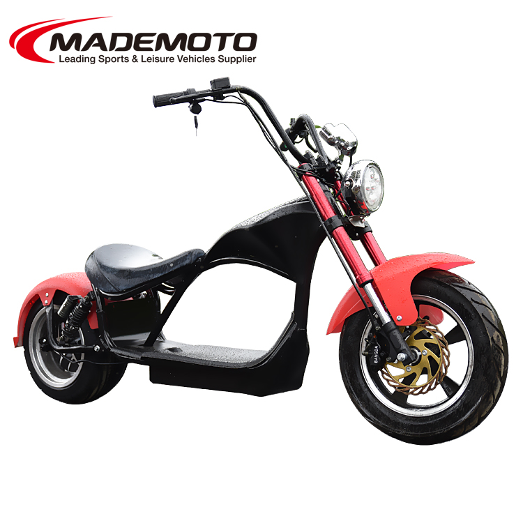 2019 Electric Harley chopper 2000W 60V 20AH Citycoco Electric Scooter